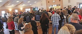 UPDATED   Heavy turnout reported as Election Day continues #VindyVote