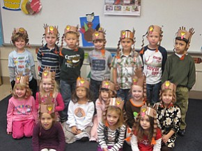 Union preschool has Thanksgiving feast
