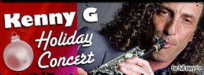Sax man's holiday show will be a howling good time Kenny G