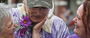 Thousands walk Warren Relay for Life despite downpour