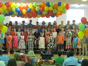 Union Elementary honors fourth-graders