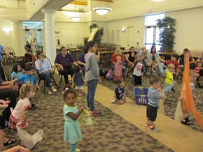 Library hosts Gotta Move story time
