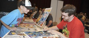 Comic book fans converge on Warren