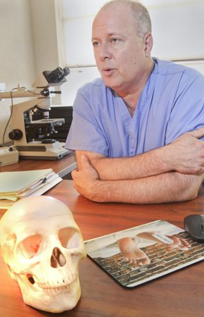 Forensic pathologists seeks answers to 'treat the public'