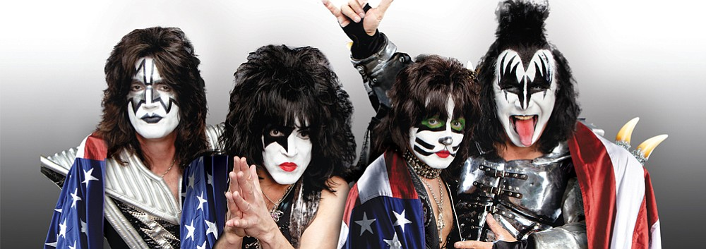 KISS in concert this Friday