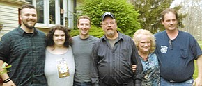 Zuckerberg pays surprise visit to Falls family