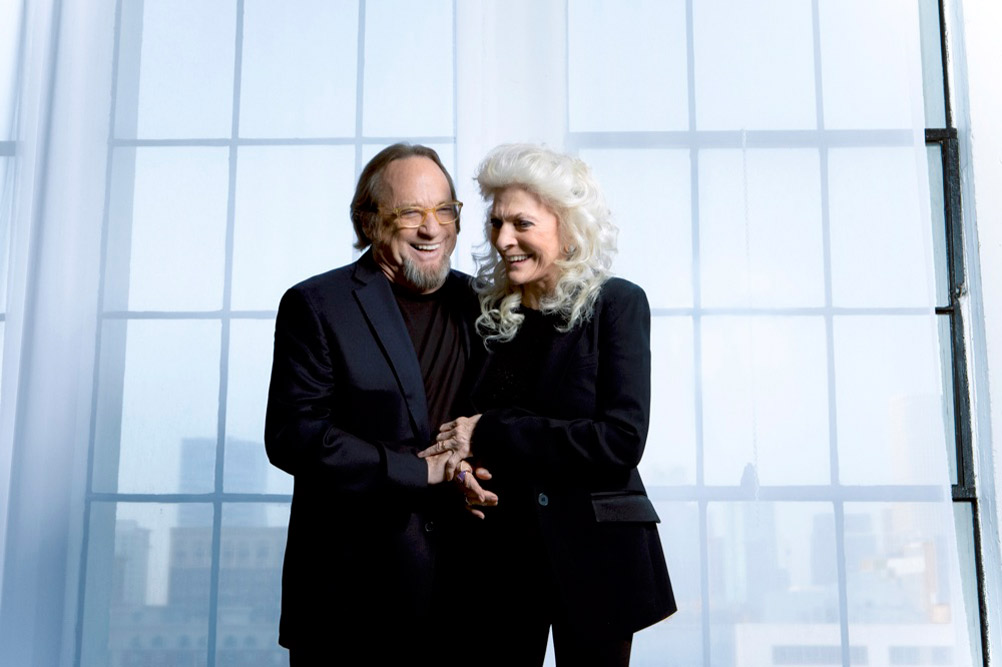 Stephen Stills and Judy Collins in first tour TOGETHER AGAIN