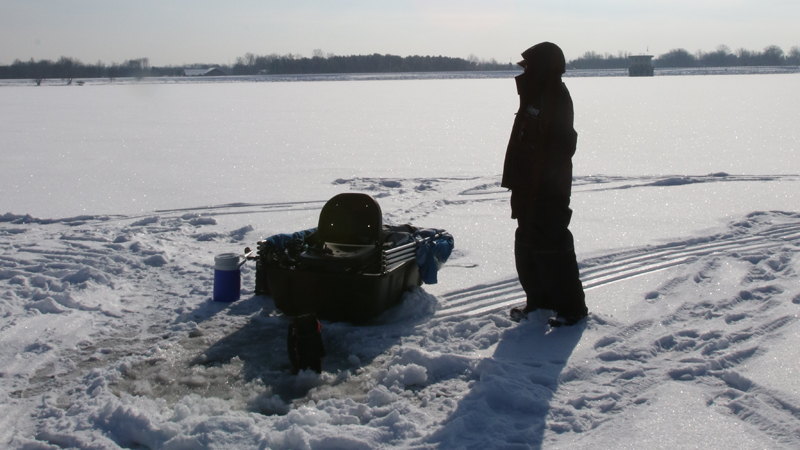 The allure of ice fishing