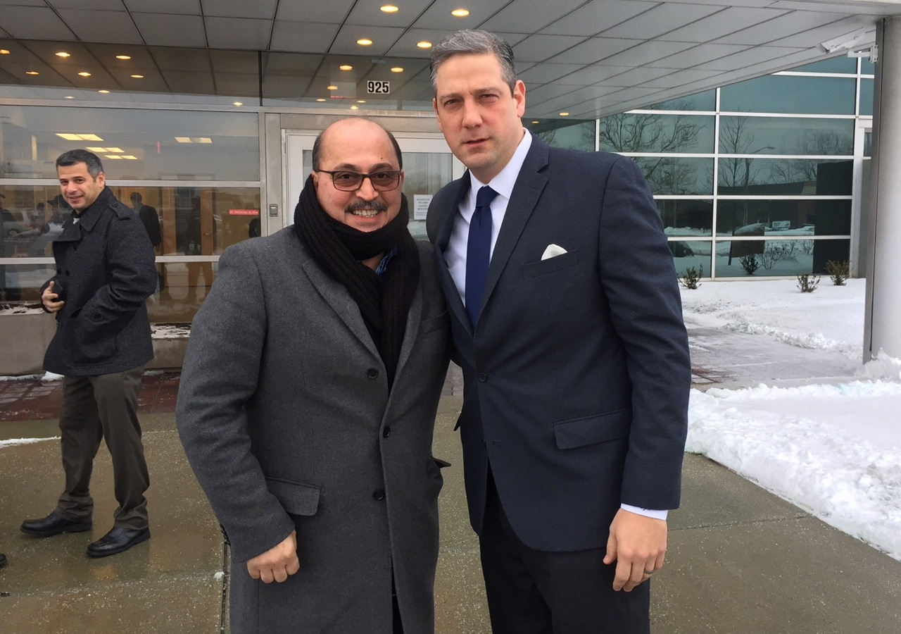 Al Adi arrives for ICE meeting in Cleveland