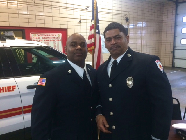 Finley sworn in as city's new fire chief
