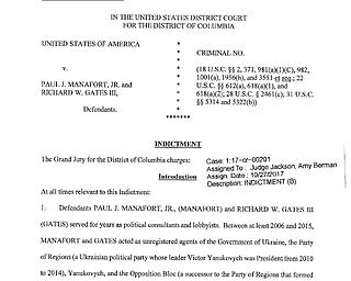 Manafort-Gates indictment