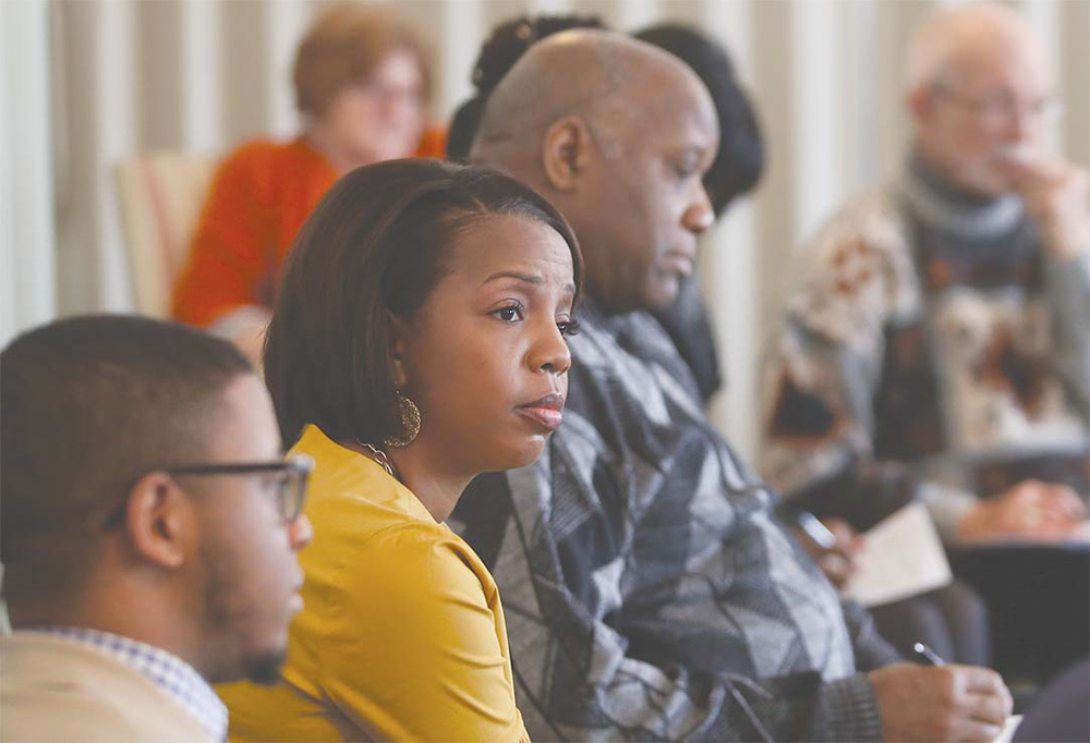 Renowned professor leads workshop examining institutionalized racism
