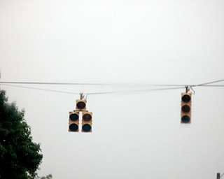 Traffic lights out and severe weather side effects.
