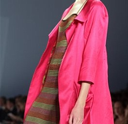 The Nanette Lepore 2008 spring collection is modeled during Fashion Week in New York, Monday Sept. 10, 2007.