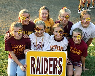 South Range 6th graders have STARS in their eyes...they KNOW their Raiders will be victorious!