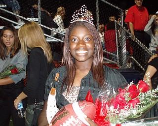2007 Canfield High School Queen: Senior Audra Frimpong