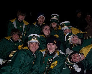 Ursuline Band at Last Fridays game