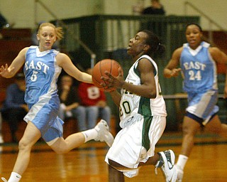 East vs Ursuline girls basketball.