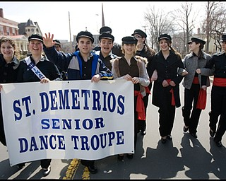 3.30.2008 Eighth Annual Greek Independence Day Parade held by St. Demetrios Church in Warren. The Parade commemorates the Greek Revolution after which independence was regained from the Turkish forces of the Ottoman Empire.
