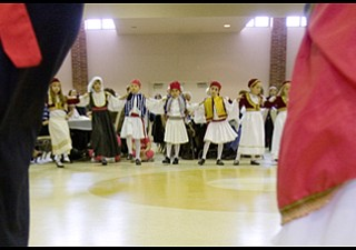 3.30.2008 Festivities at the Community Center in Warren following the Eighth Annual Greek Independence Day Parade held by St. Demetrios Church.