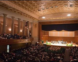 5.31.2008 Ursuline High School Commencement at Stambaugh Auditorium Saturday morning.