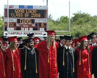 Canfield High School Graduation 08