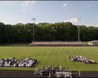 6.8.2008 Springfield High School's Class of 2008 graduates Sunday evening at the school's stadium.