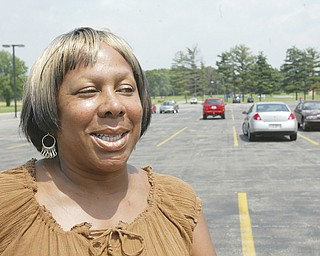 NEW TRAINEE: Barbara Allen, 50, of Warren is one of the new people hired at General Motors' Lordstown plant. She is one of 500 people attending orientation training sessions this week.