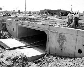Bridge replacement work on 224 near Lockwood.