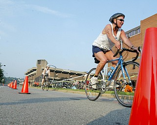 Youngstown Central YMCA Triathlon July 19, 2008.