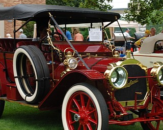 "Bob Erasquin's 1910 Phaeton won Best in Show at the 19th Annual National Packard Museum Car Show, ""Boss of the Road, Beauty of the Boulevard."""