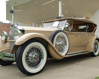 "The 19th Annual National Packard Museum Car Show, ""Boss of the Road, Beauty of the Boulevard."""