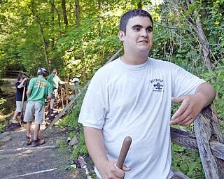 Eagle Scout Service project Jordan Vigorito.