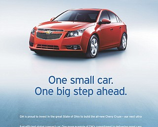 GM Cruze Promotional Materials