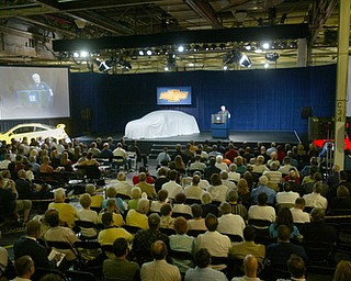 GM Lordstown unveils Cruze