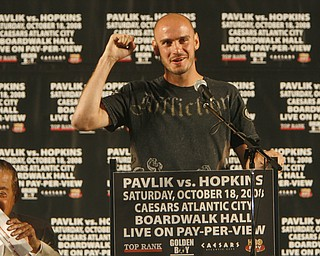 Kelly Pavlik press conference at the Chevy Centre