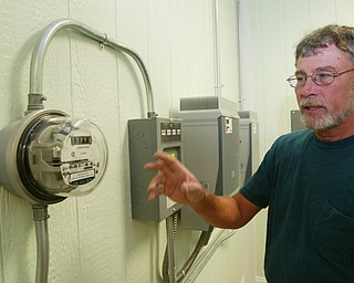 Jim Kilpatrick has installed solar panels to generate electricity on his Warren Twp. farm.