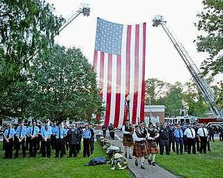 911 ceremony in Canfield Sept. 11, 2008.911 ceremony in Canfield Sept. 11, 2008.