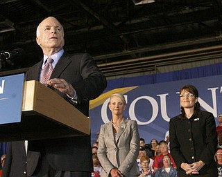 McCain Palin Victory Rally Vienna, Ohio