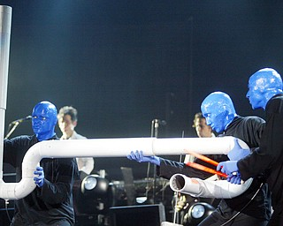 Blue Man Group Chevrolet Centre Sept 17. 2008