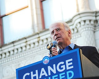 Joe Biden speaks in Youngstown Sept. 18, 2008
