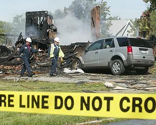 Girard house explosion Sept. 18, 2008
