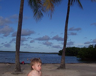 Cali Matey after swimming in the bay at John Pennekamp Coral Reef State Park in Key Largo, Fla., sent in by Kelly Matey, New Springfield