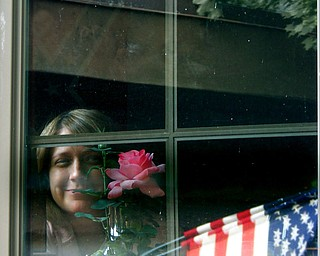 Jim Couchenour captured this face peering out of a window during a trip to Gettysburg, Pa.