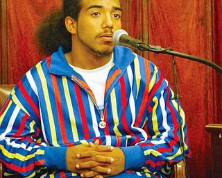 Julius Crawford testifies 10-9-08 in murder trial of Michael Davis.