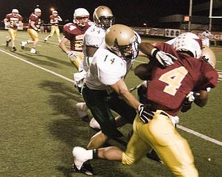 St. Vincent-St. Mary vs Mooney. Saturday October 11, 2008. Daniel C. Britt.