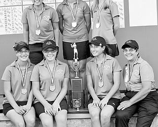 The Poland High girls golf team