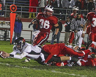 Niles vs Canfield. Photo by Nick Mays.