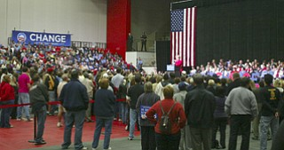 Obama for America: Hilary Clinton comes to the Valley to rally support for Barack Obama and Joe Biden.