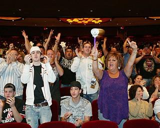 Pavlik fans at Friday Oct. 17, 2008 Atlantic City weigh in.